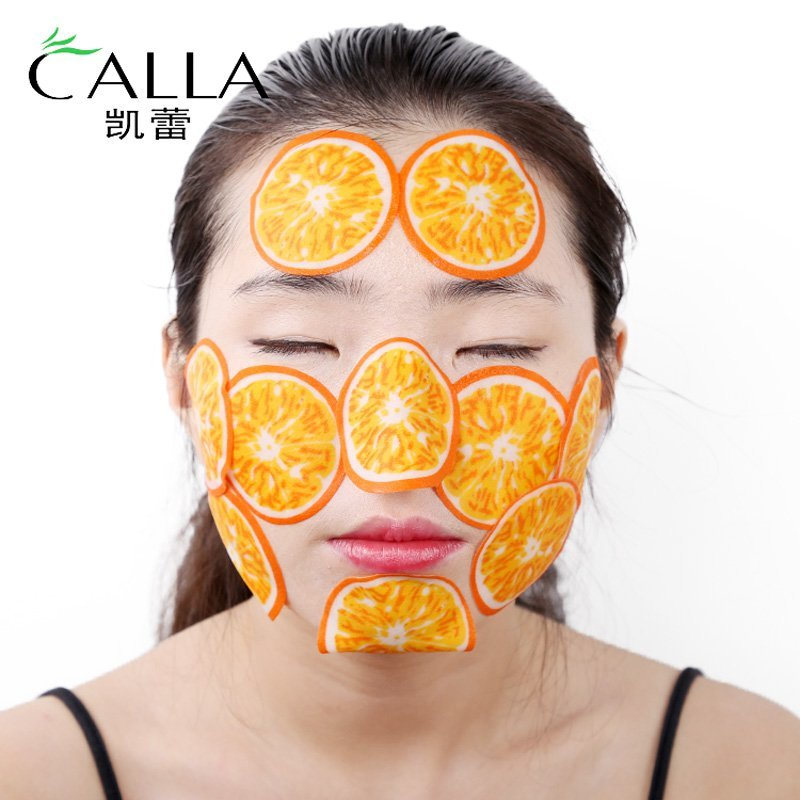 Fruit Slice Facial Mask For Removing Wrinkle