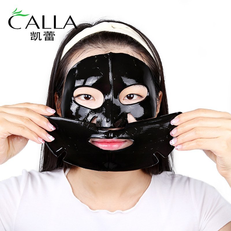 Facial Mask Acne Reducing Bamboo Charcoal Collagen