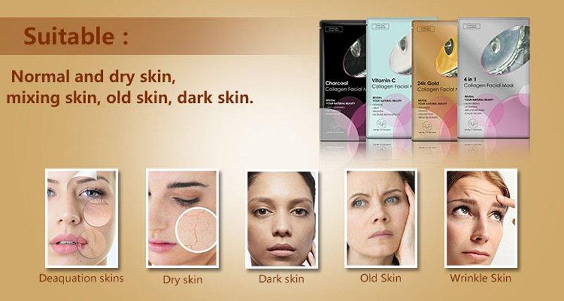 Calla-Whitening Nourishing Vitamin C Collagen Facial Mask | Calla Products-1