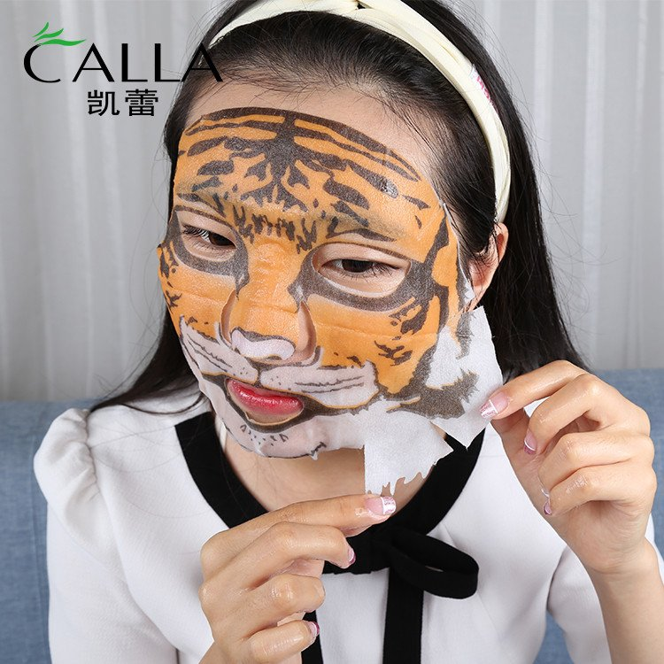 Calla-Private Label Custom Non Woven Animal Facial Mask   Face Mask-1