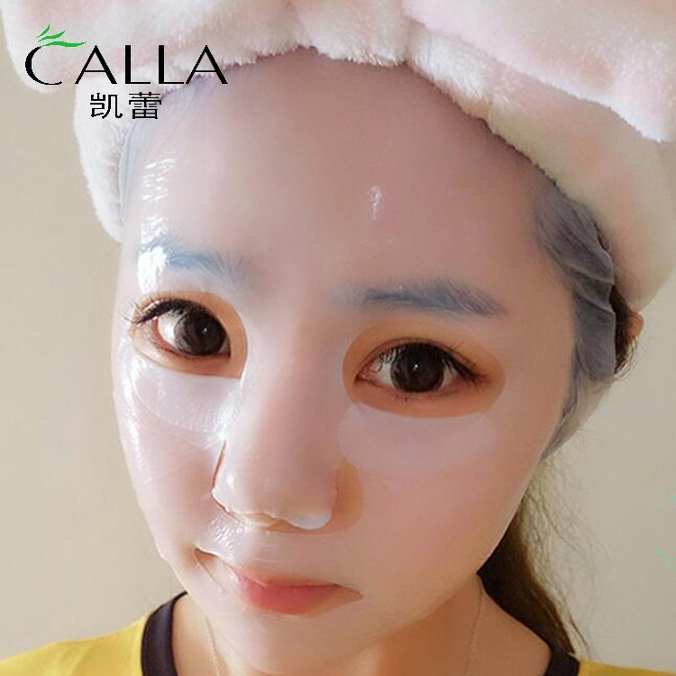 The wrong way to apply mask, may lead to skin allergies