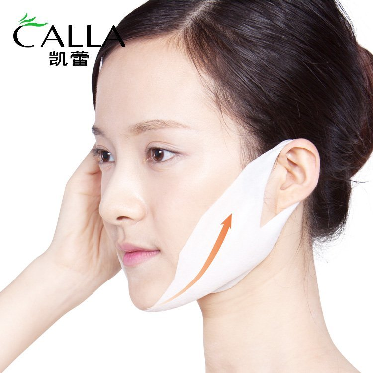 Facial Mask V Line Face Lift Up Hydrogel Whitening Tightening Firming Moisturizing
