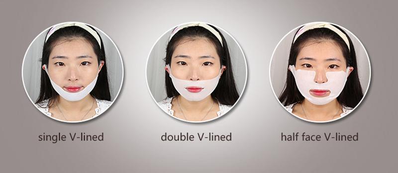 Calla-Korean Hydrogel V Shape Face Slimming Lifting Facial Mask-1