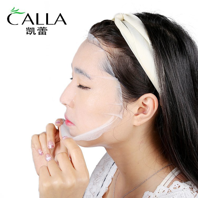Hydrating Facial Sheet Brightening Silk Face Mask OEM Best Price