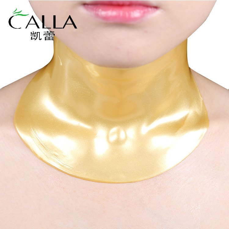 Neck Mask 24K Gold Collagen Crystal Moisturizing Firming