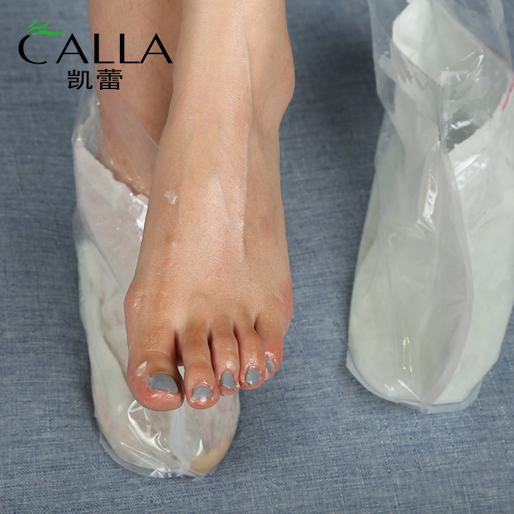 Foot Mask OEM Paraffin Wax Sock Spa Whitening Moisturizing Repair
