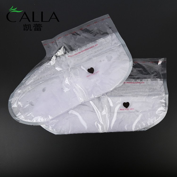 Calla-Oem Paraffin Wax Sock Spa Whitening Foot Mask - Calla