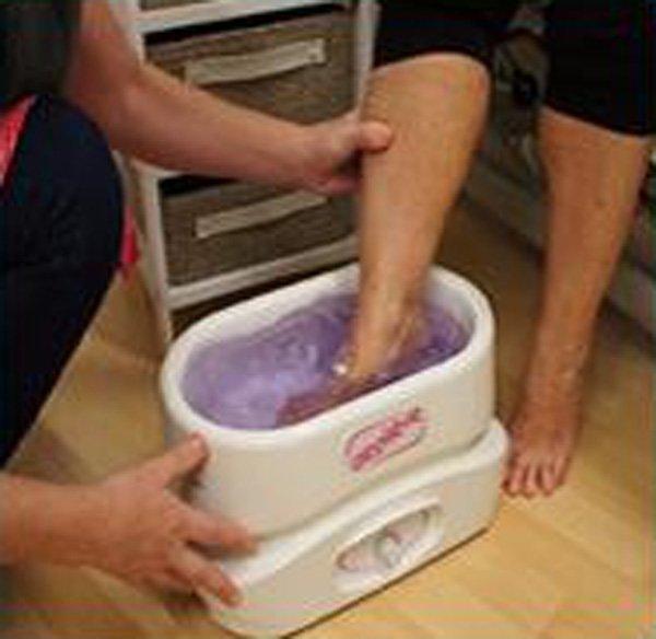 Calla-Oem Paraffin Wax Sock Spa Whitening Foot Mask - Calla-4