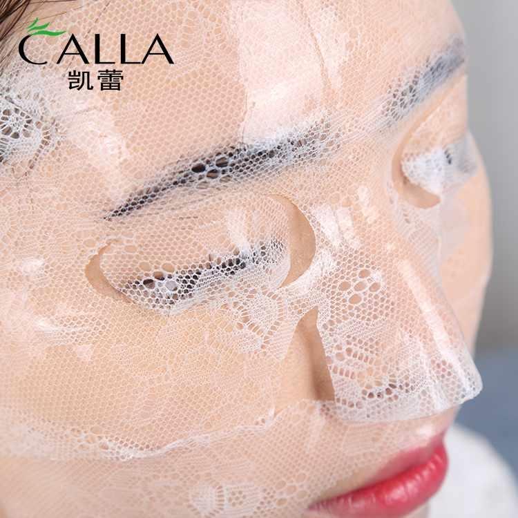 Lace Face Sheet Rose Lightening Moisturizing Gel Facial Mask Korean