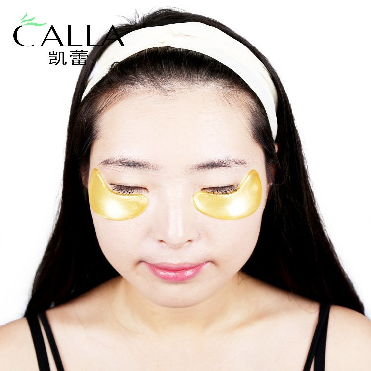 Reduce the fine lines anti aging 24k gold eye mask