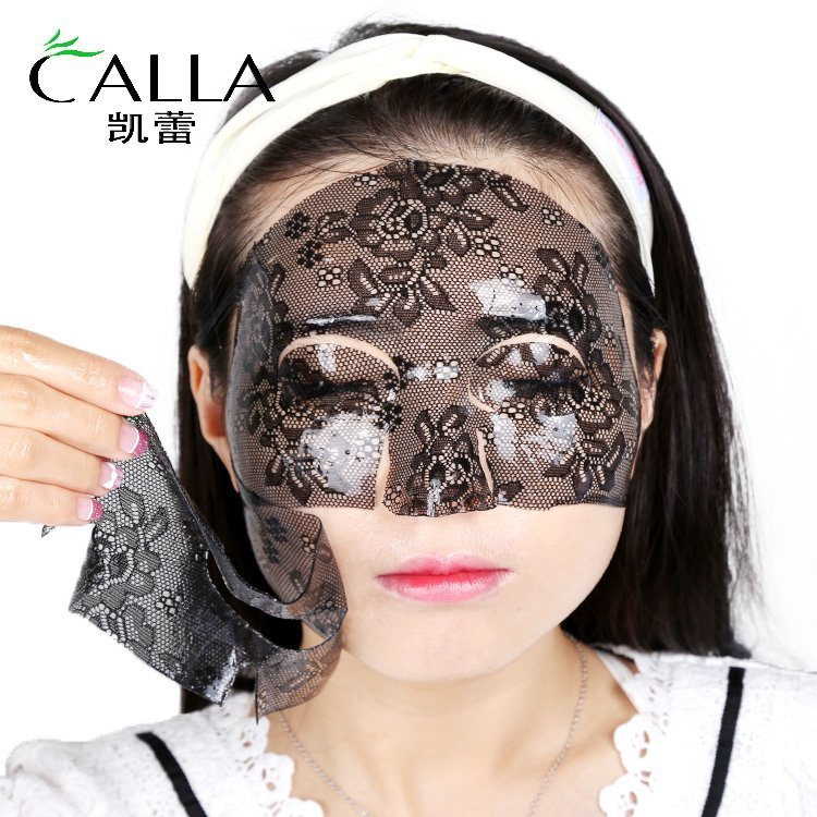 Hydrating Lace Face Sheet Moisturizing Rose Facial Mask