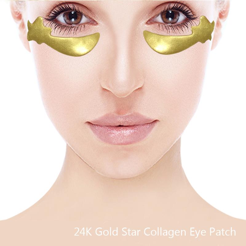 24k Gold Star Collagen Eye Patch