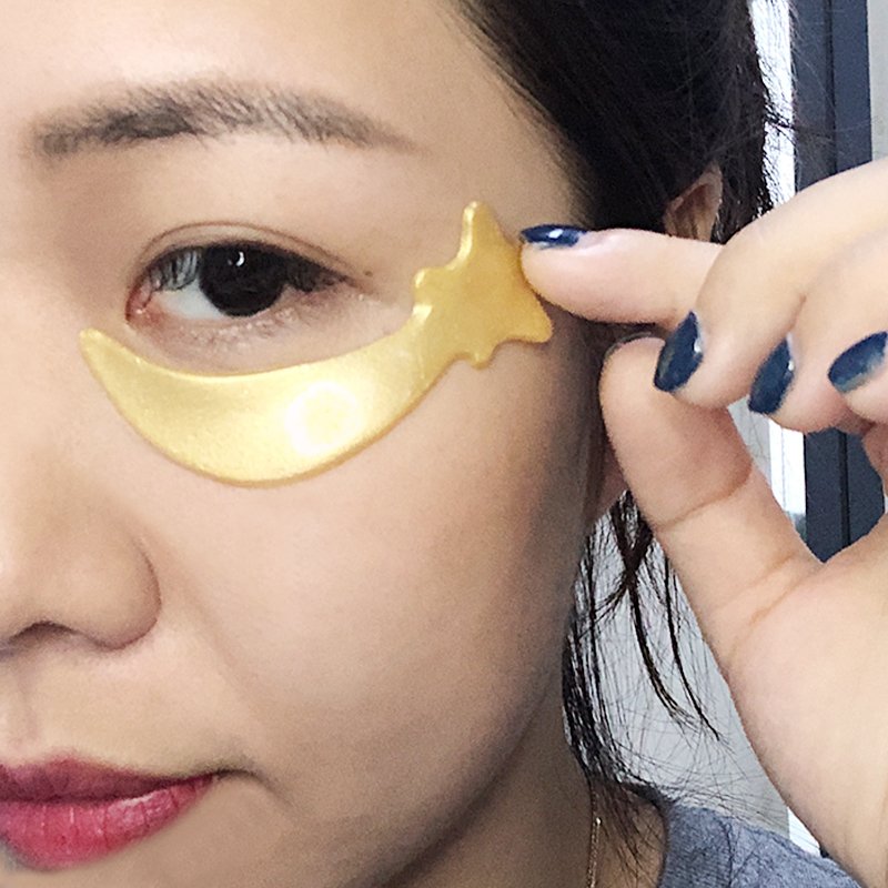 Eye Patch 24k Gold Star Collagen Removes Dark Circle Under Eye Mask