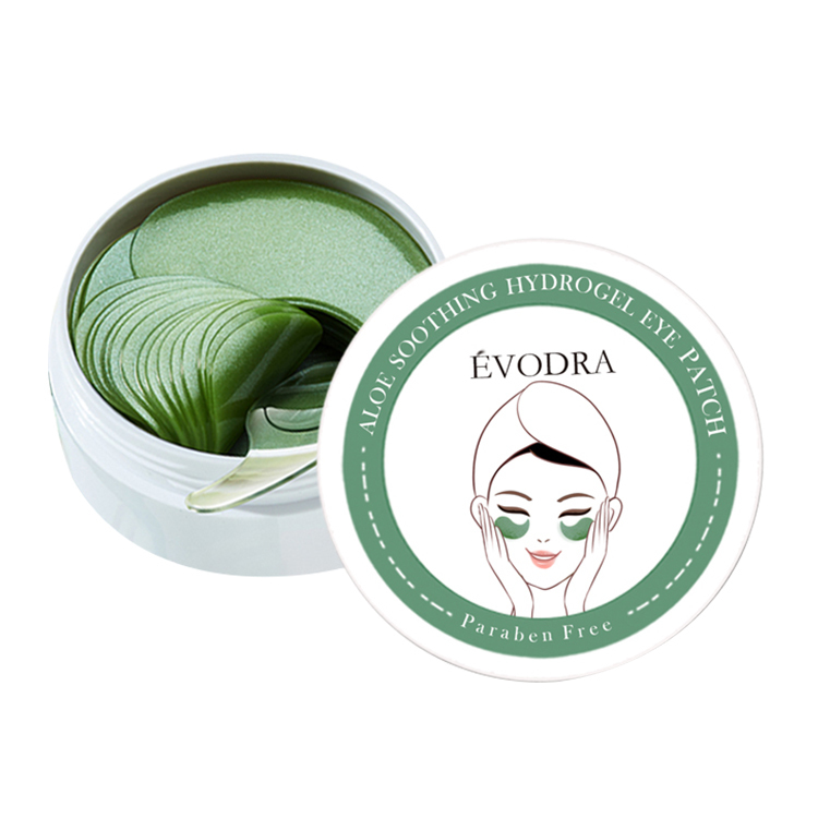 Eye Patch Green Collagen Crystal Aloe Soothing Hydrogel Under Eye Mask