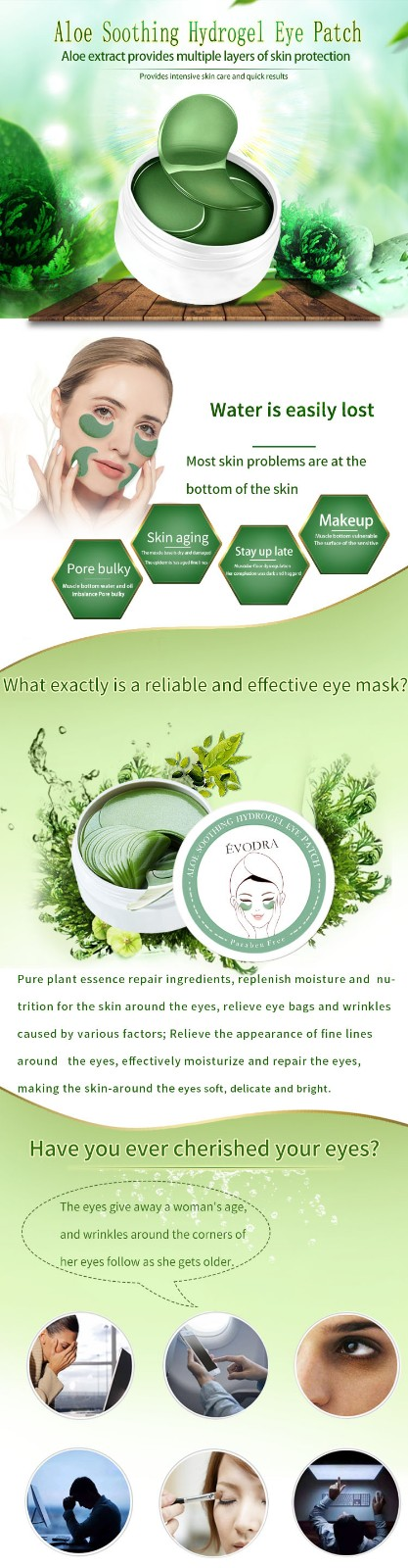 Calla-Oem Repair Eye Mask Manufacturer, Anti Aging Sleep Eye Mask | Calla