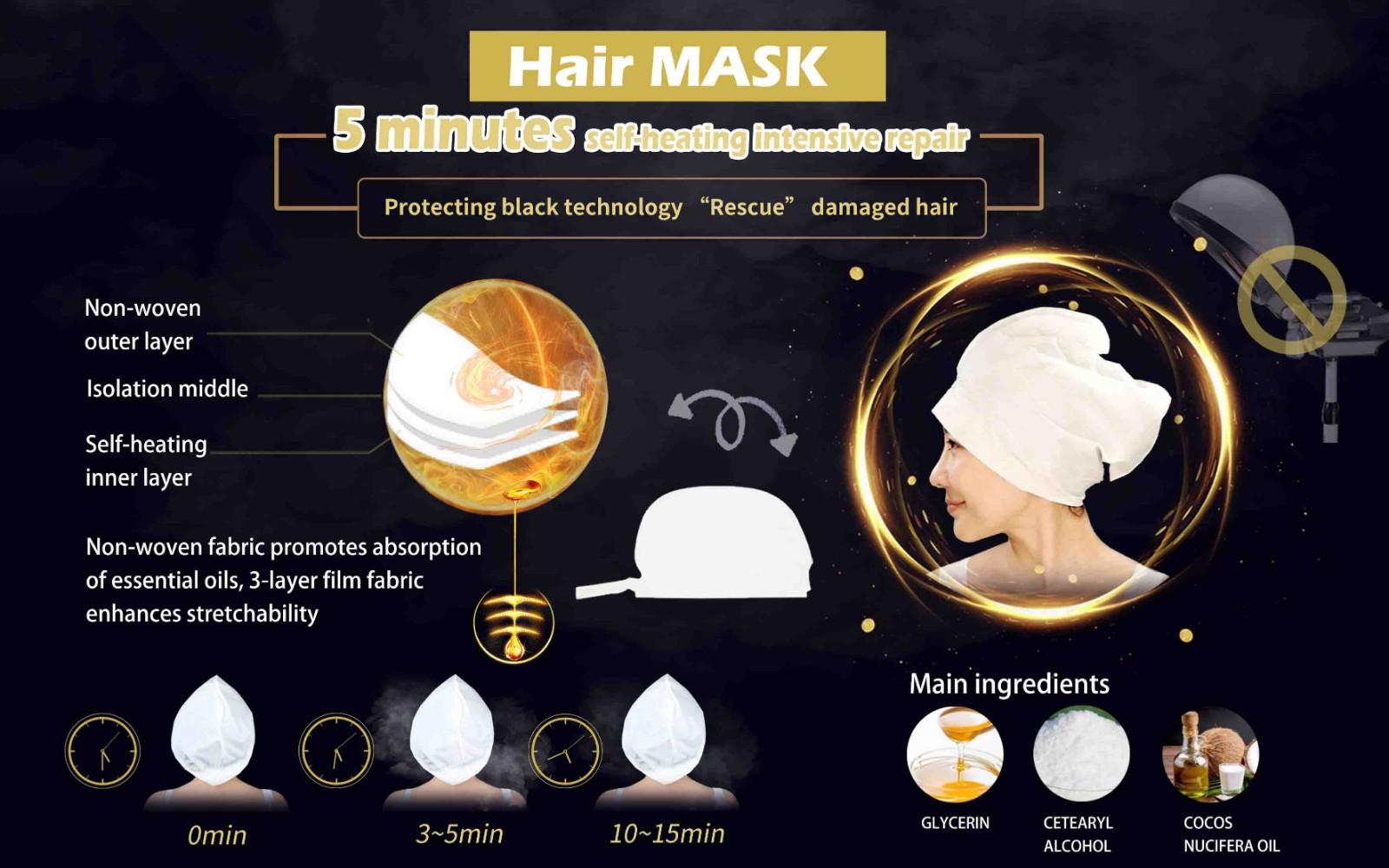 Calla-Self Heating Hair Treatment Mask