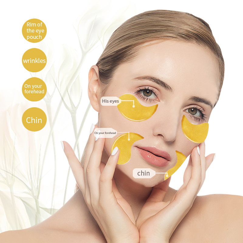 Eye Patch 24K Gold Moisturizing Firming Hydrogel Under Eye Mask