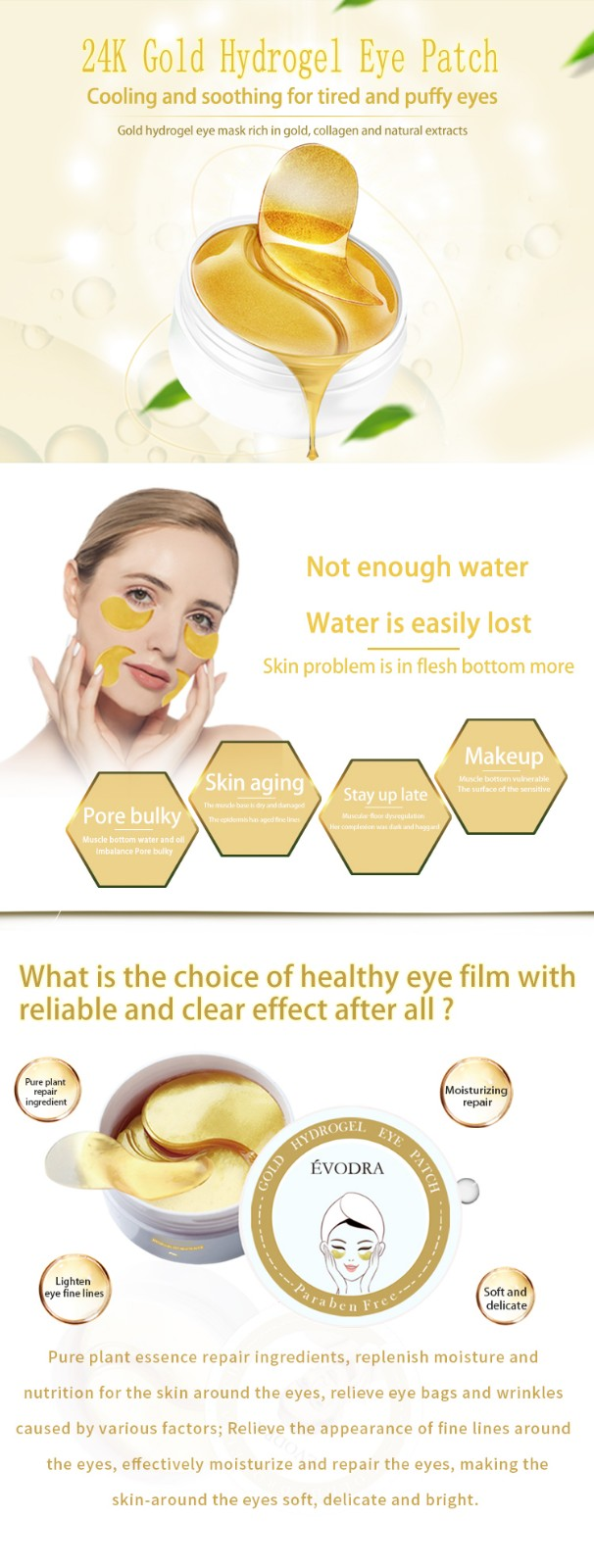 Calla-Skin Care Products Manufacture Manufacturer, Best Hydrating Eye Mask | Calla