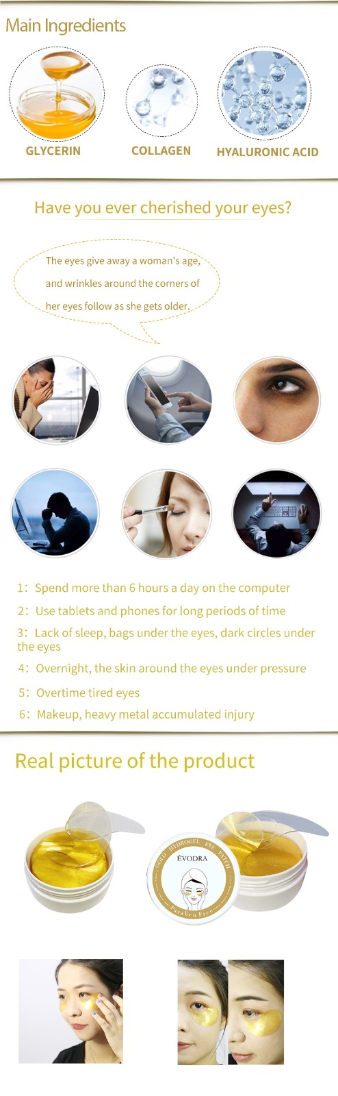 Calla-Skin Care Products Manufacture Manufacturer, Best Hydrating Eye Mask | Calla-1