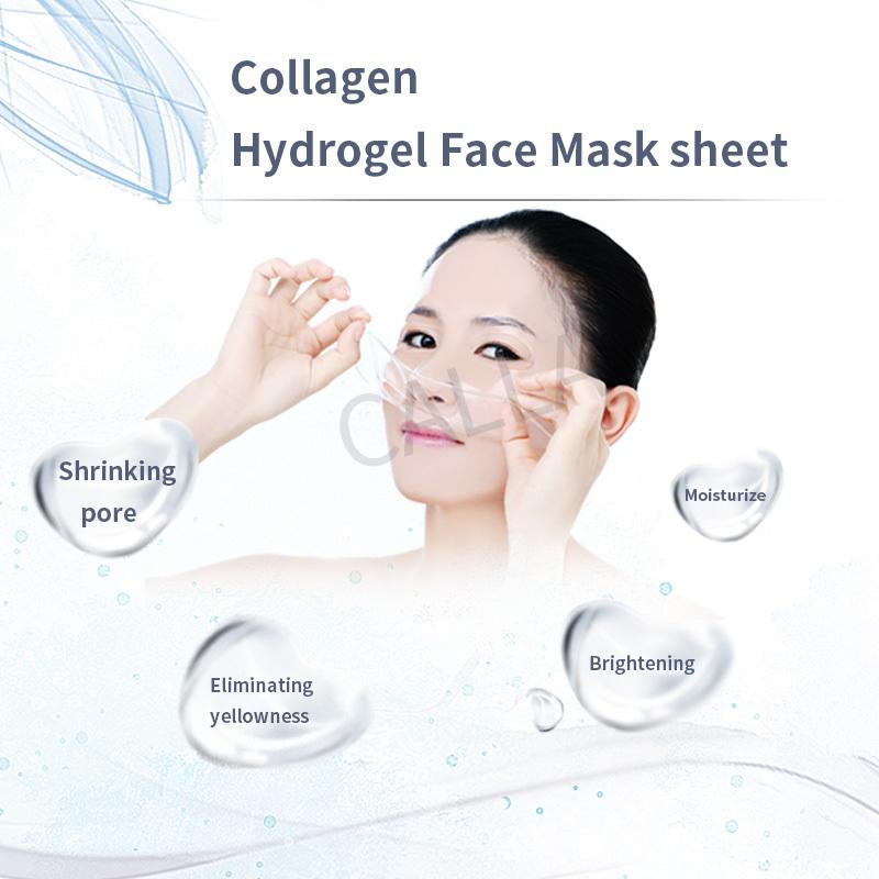 Collagen Hydrogel Face Mask sheet