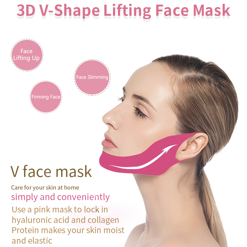 3D V-Shape Lifting Face Mask
