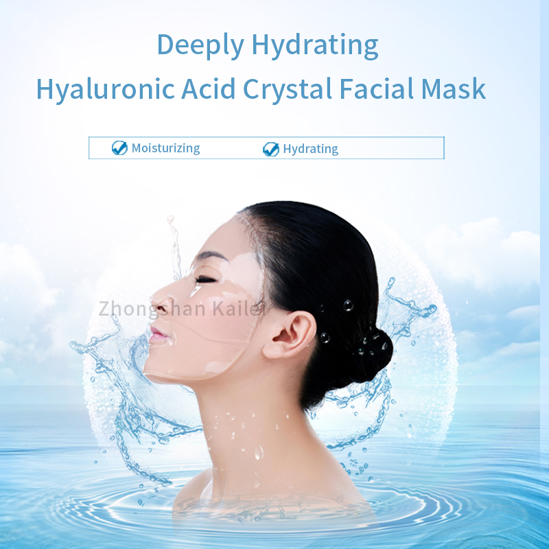 Deeply Hydrating Hyaluronic Acid Crystal Facial Mask