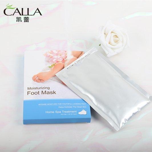Private Lable Foot Peel Spa Exfoliating Mask Lemon Sock