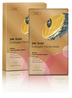 Gold Korean Really Good Face Mask With Certification