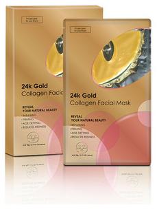 Calla-High Quality Anti-wrinkle 24k Gold Powder Crystal Facial Mask-1