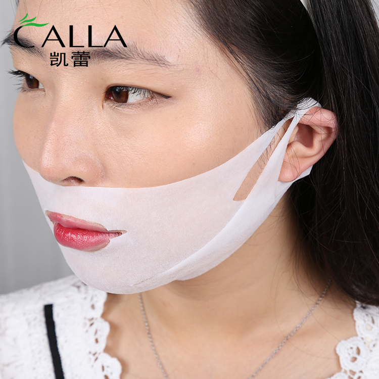 V Shape Lifting Slim Face Sheet Private Label Lift Facial Mask Hot Sale