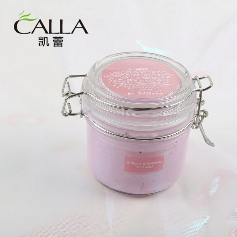 Clay Pink Volcanic Mud Face Mask Good Quality