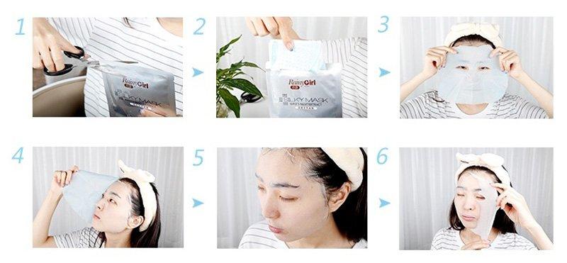 Calla-High Quality Korea Whitening Moisturizing Silk Facial Mask-4