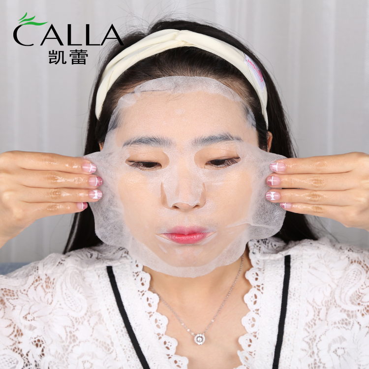 Renewal Silk Facial Mask With High Quality Korean Face Sheet 3 Layer Silk Protein Facial Mask