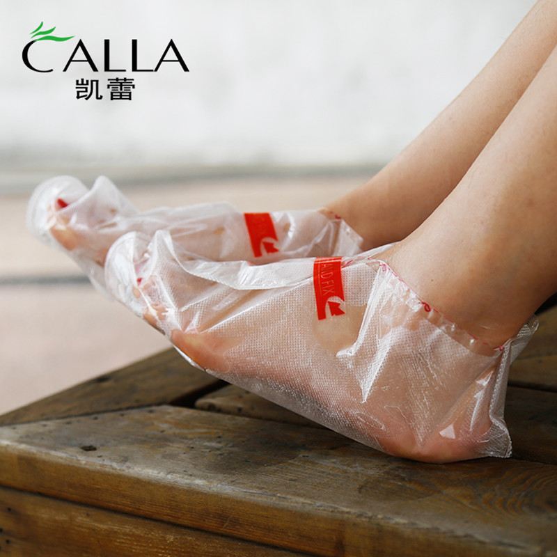 Spa Moisturizing Callus Peeling Exfoliate Sock Top Sale