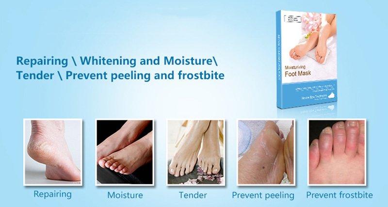 Calla-Manufacturer Of Fda Foot Moisturizing Korea Skin Care Nonwoven Sock For Oem-3