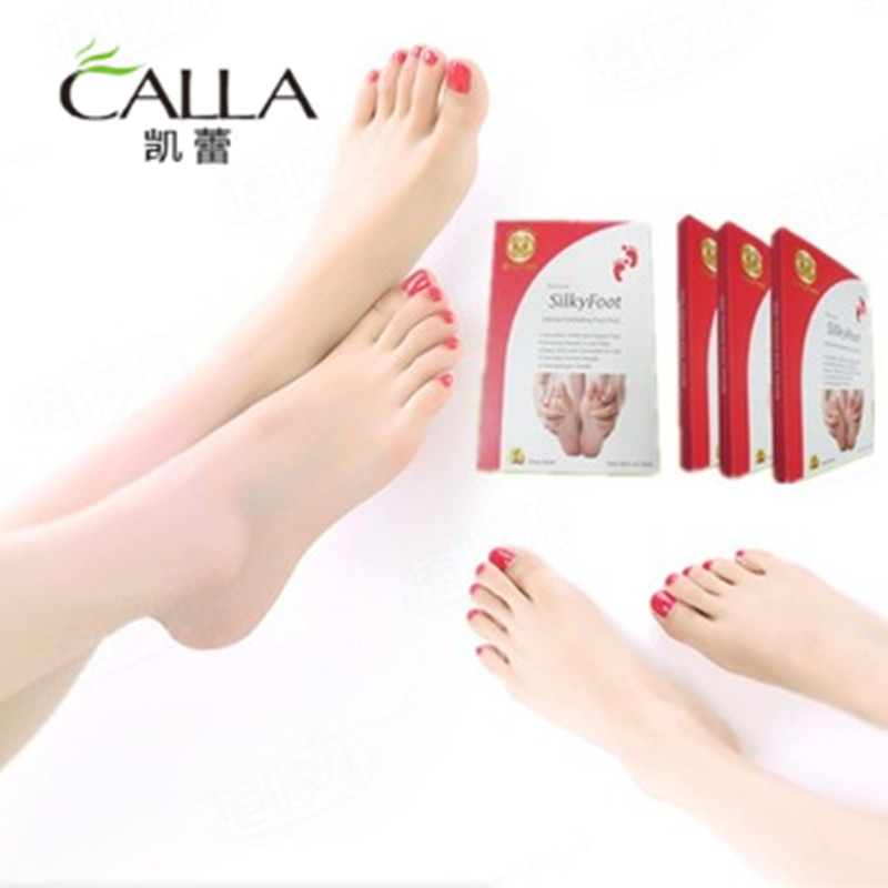 Calla-Best Peeling Exfoliating Best Foot Mask For Dead Skin With Certification-1