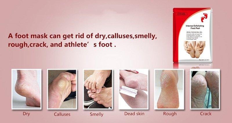 Calla-Top Sale Spa Moisturizing Callu Peeling Exfoliate Sock   Foot Renewal Mask-9