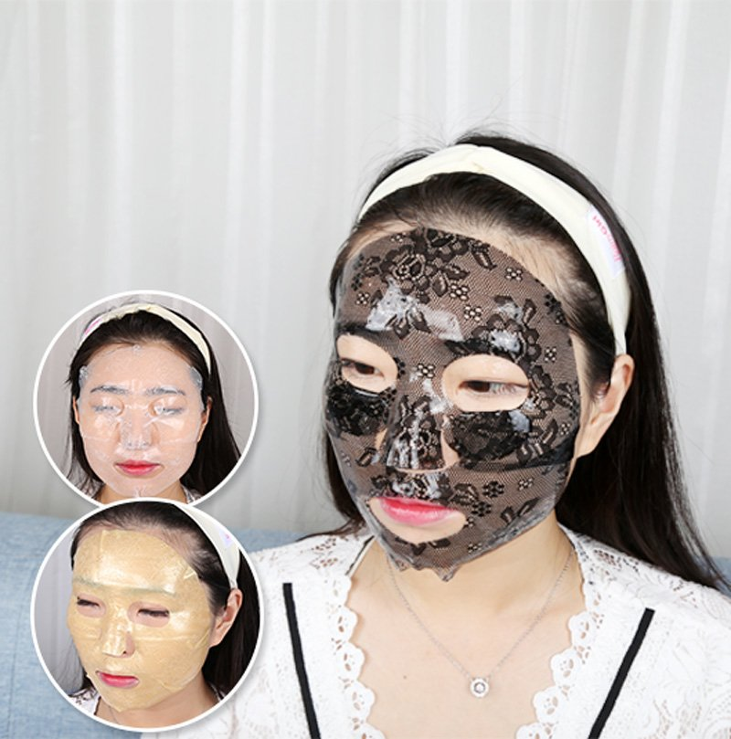 Calla-New Product Intensive Moisturizing Black Lace Hydro gel Facial Mask-1