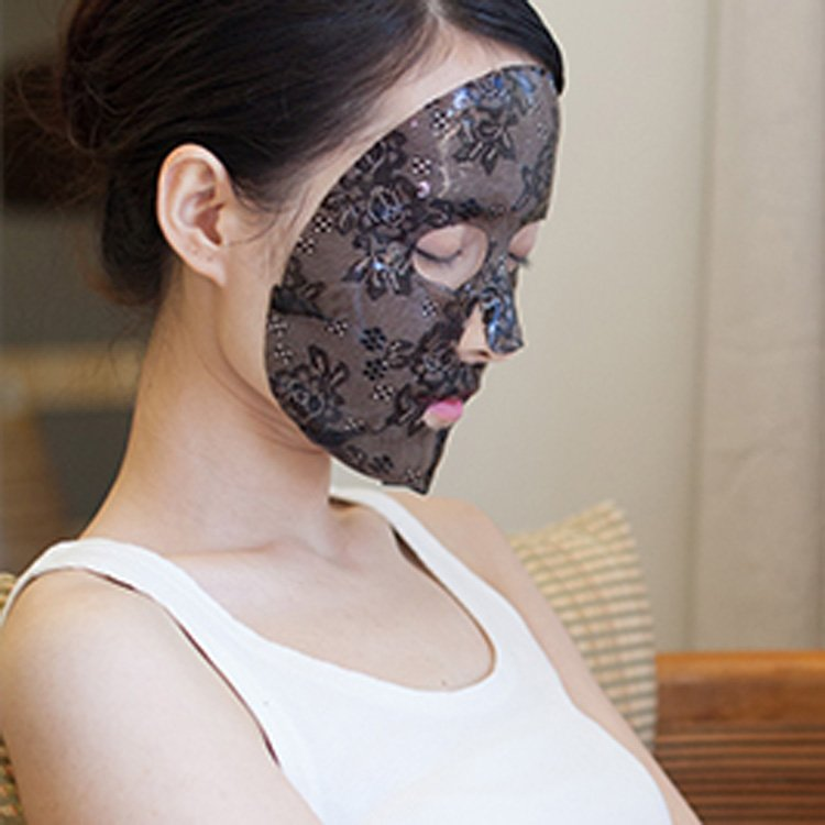 Calla-New Product Intensive Moisturizing Black Lace Hydro gel Facial Mask-2