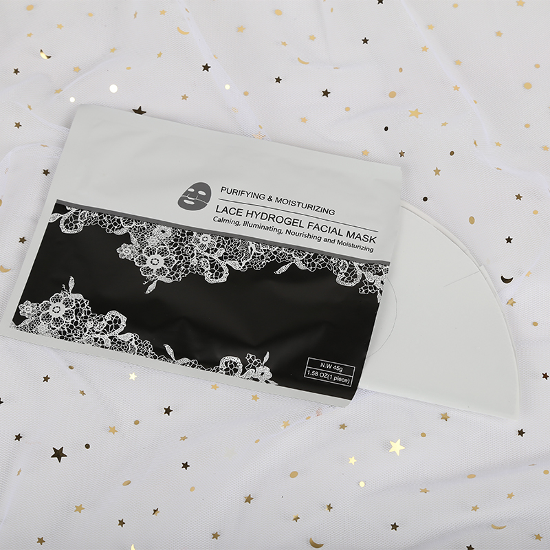 best price of lace hydrogel moisturizing facial mask with high quality
