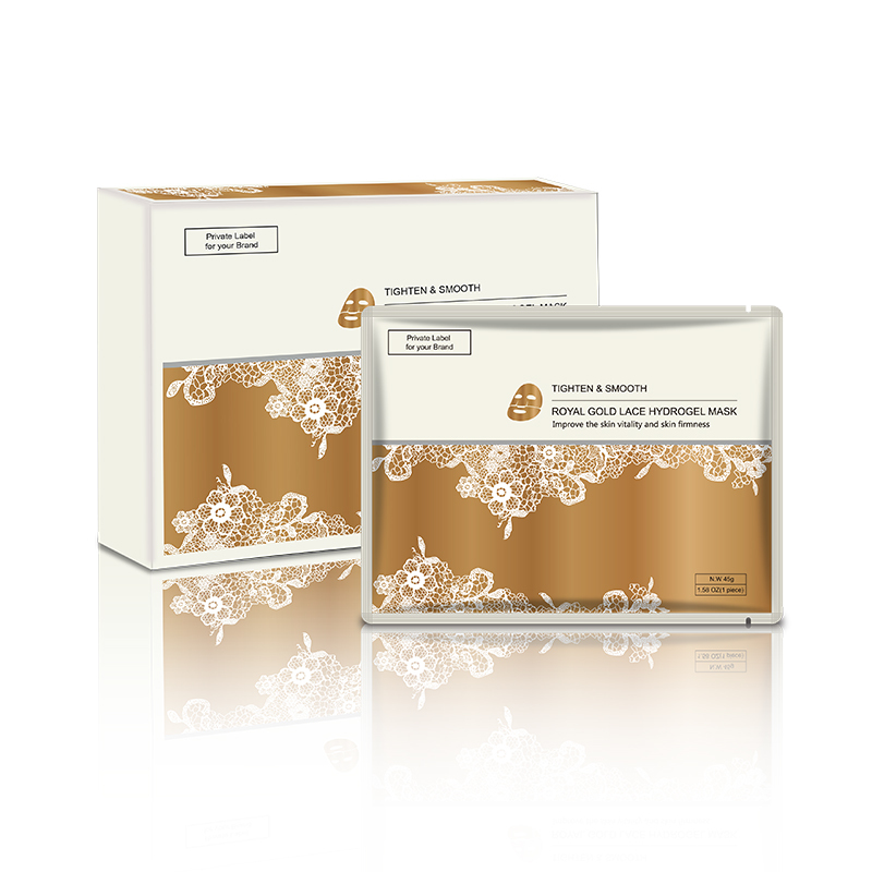 Gold Lace Facial Mask