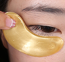 OEM Free Collagen Gel Anti-aging Hyaluronic Acid Eye Mask Eye Patch