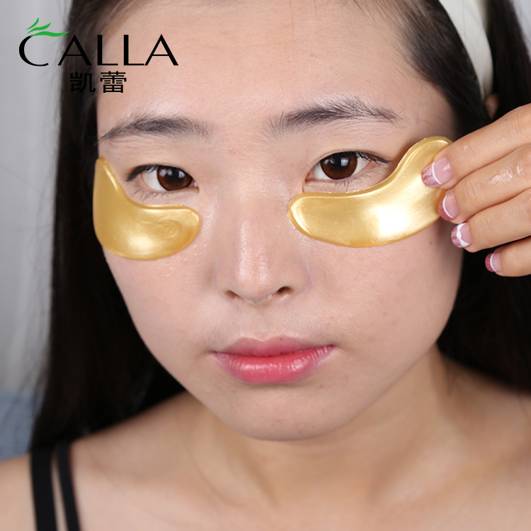 Anti-aging Hyaluronic Acid Eyes Mask Golden Crystal Collagen Eye Pad