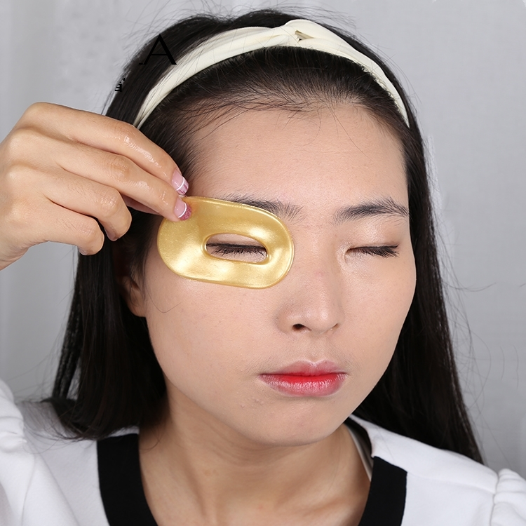 24k Gold Collagen Crystal  Collegen Eye Mask OEM ODM