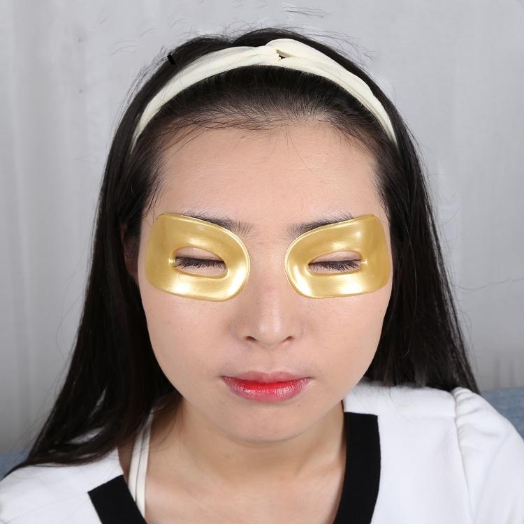 Anti Aging Crystal Collagen Gold Powder Hydrogel Eye Mask