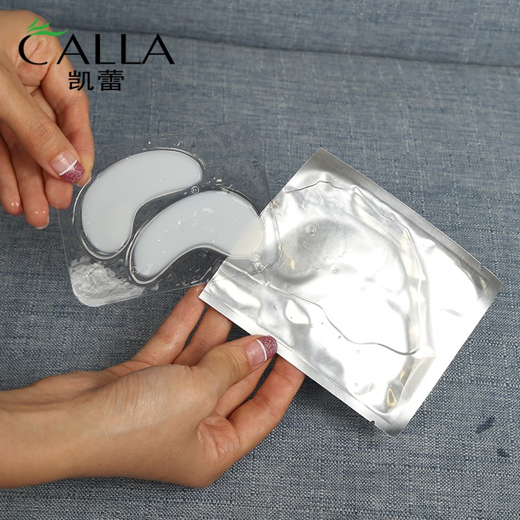 Calla-Collagen Anti Aging Hyaluronic Acid Crystal Eye Mask | Eye Mask Products Factory-3