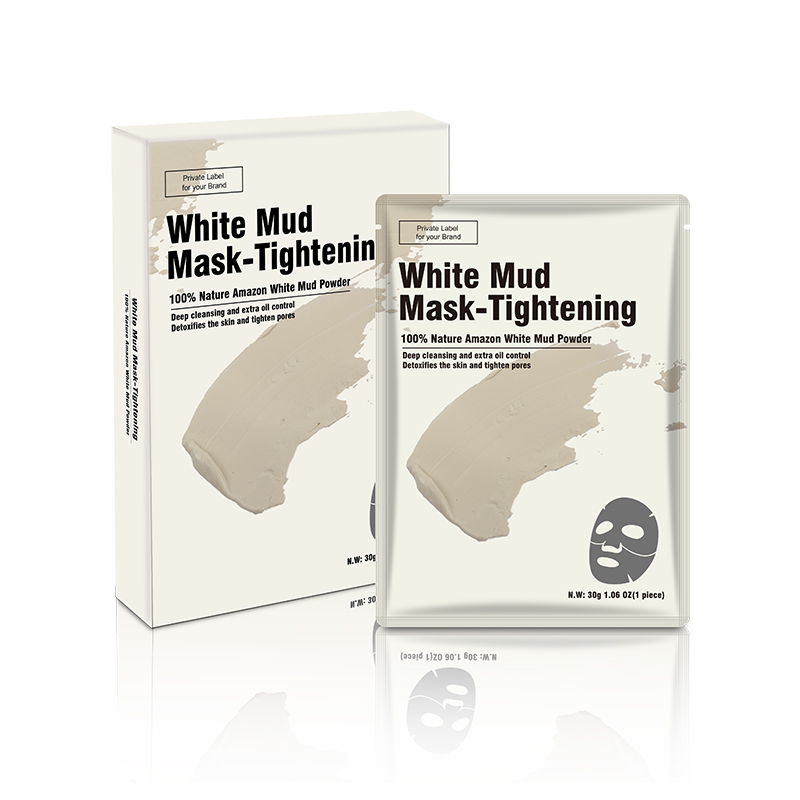 White Clay Mask Sheet