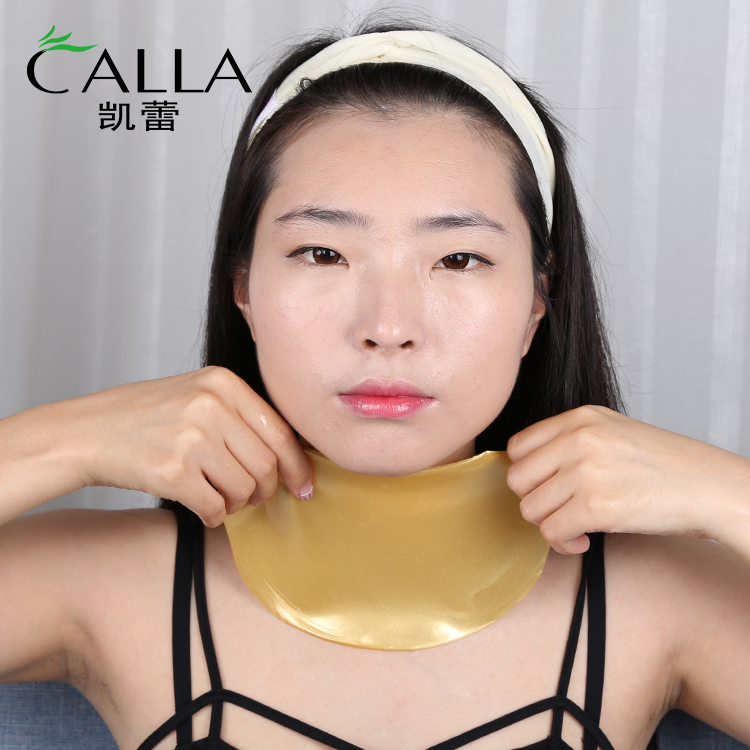 Firming Gold Neck Mask With Good Price GMP