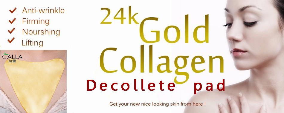 Calla-Reduce Fine Lines Lift Collagen Crystal Gold Neck Mask | Neck Mask