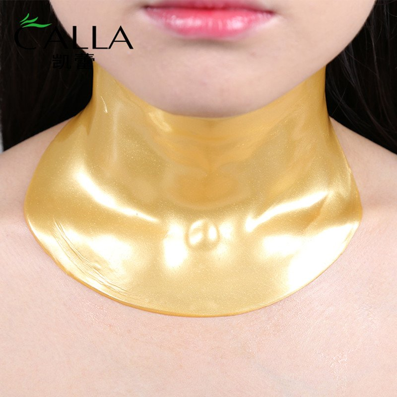 Calla-Reduce Fine Lines Lift Collagen Crystal Gold Neck Mask | Neck Mask-4